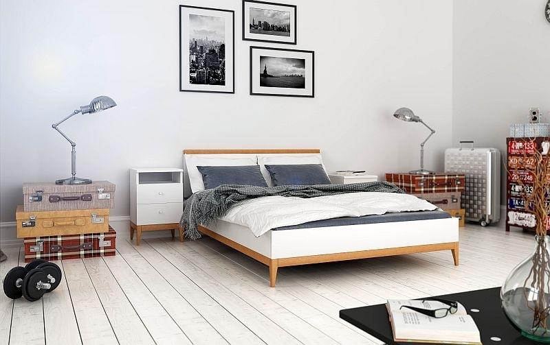 Aranżacja Sypialni Wybieramy łóżko Skandynawskie Meble